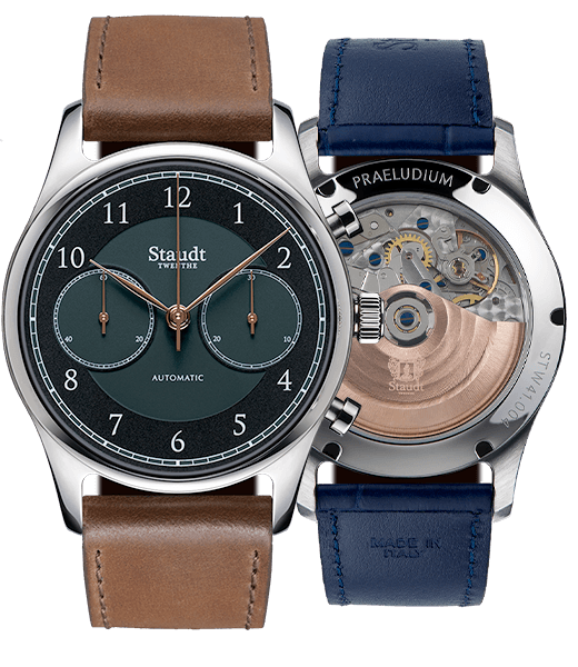 Staudt Praeludium Chronograph green