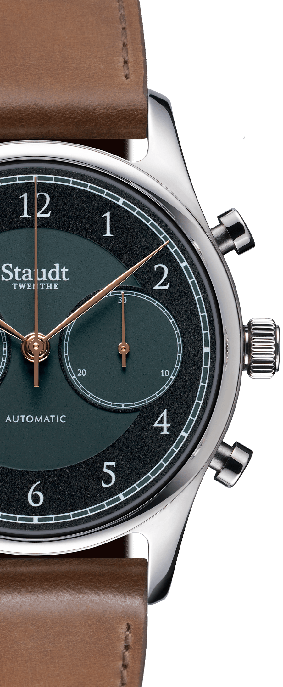 Staudt Praeludium Chronograph green3