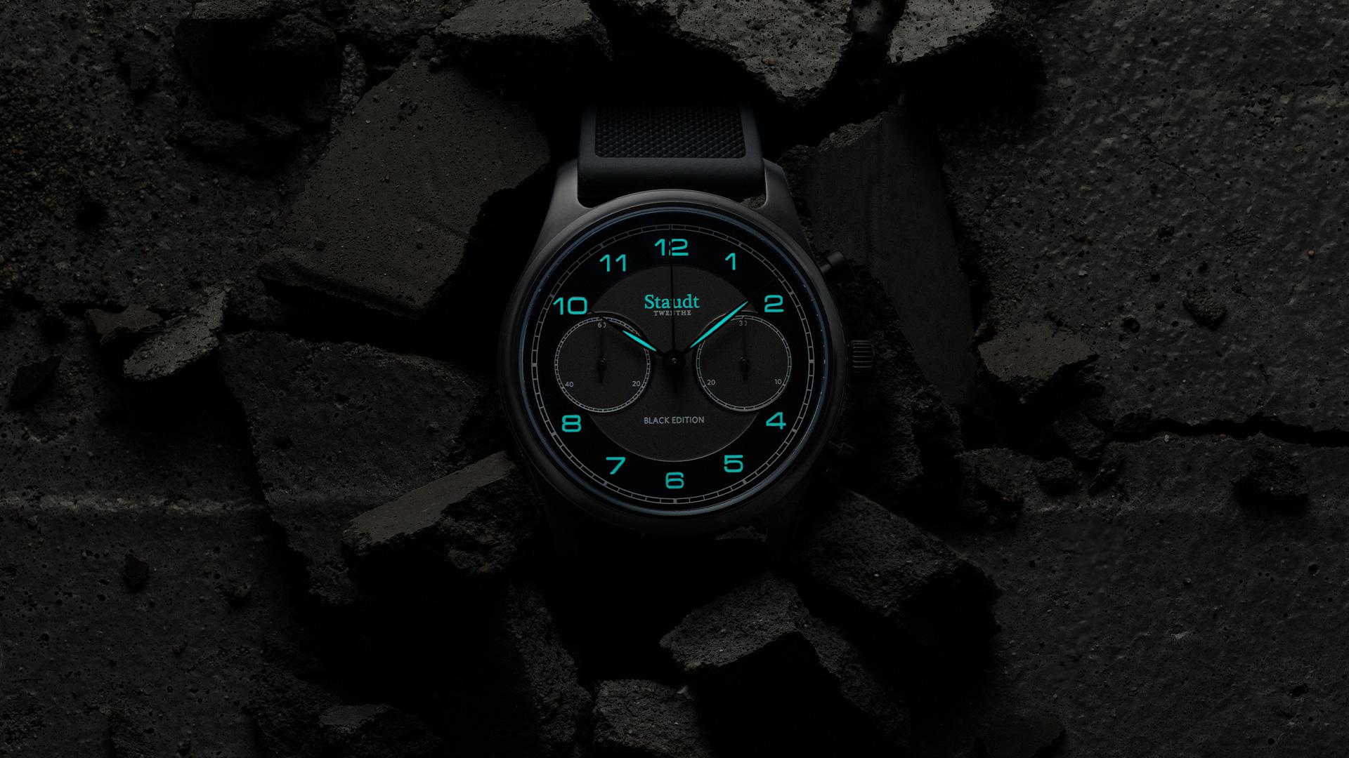 Staudt Praeludium Chronograph Black Edition4