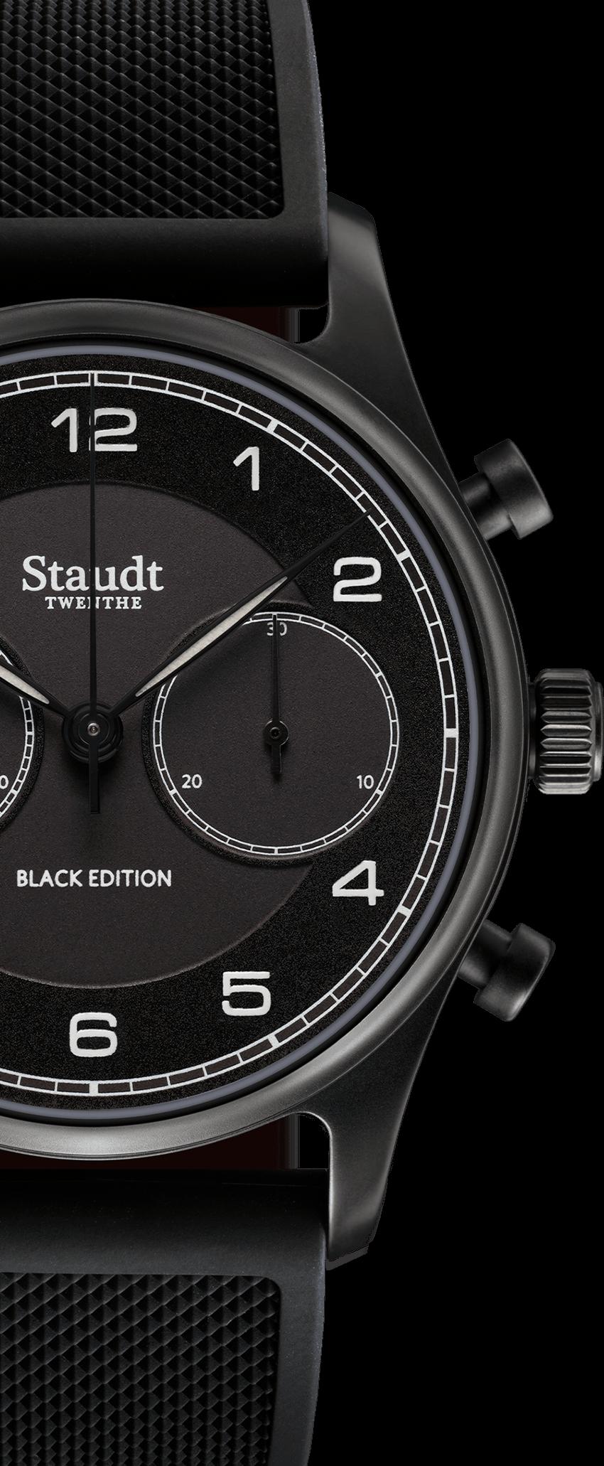 Staudt Praeludium Chronograph Black Edition5