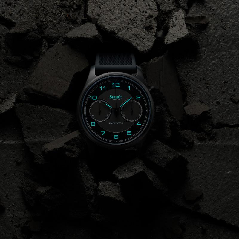 Staudt Praeludium Chronograph Black Edition7