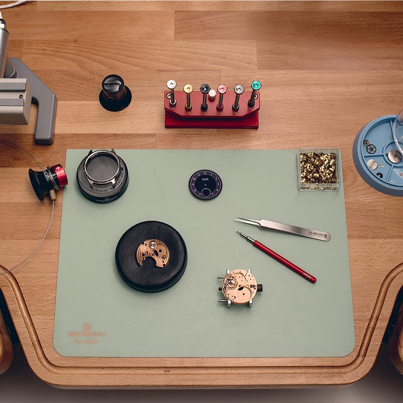 Staudt watches watchmaking