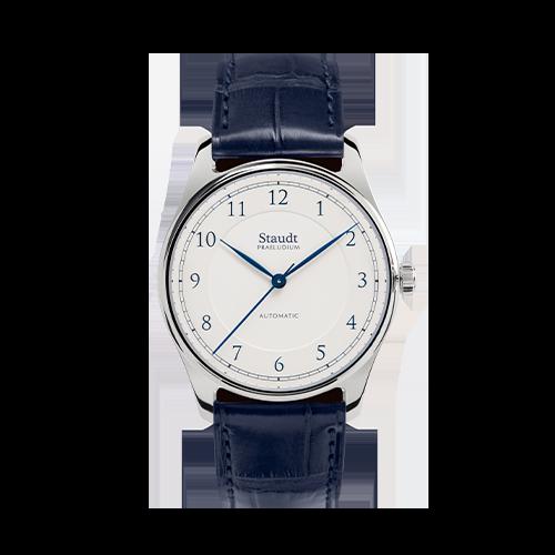Staudt Petit watch ivory 37mm automatic mechanical
