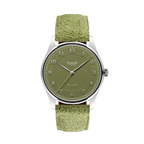 Ton sur ton ladies watch green 37mm