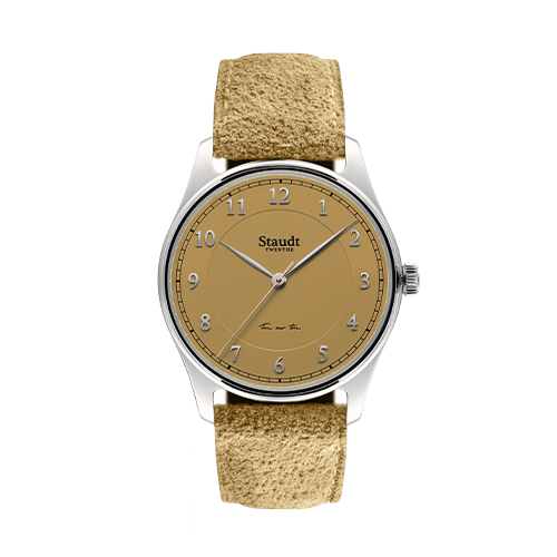 Ton sur ton ladies watch mustard 37mm