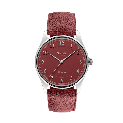 Ton sur ton ladies watch red 37mm